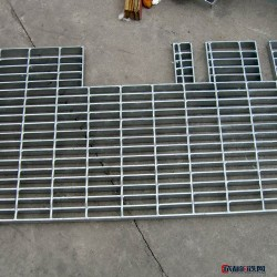 【萨金厂家】供应钢格板 不锈钢异型钢格板  镀锌异型钢格板  异型钢格板图片