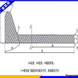 热镀锌扁钢现货销售 Q235球扁钢 热轧扁铁404图片