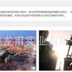 热轧船用球扁钢 规格齐全 钢厂代理 直销图片