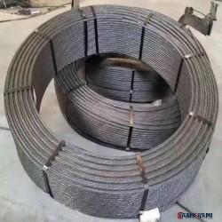 天津鋼絞線 12.7橋梁鋼絞線 天津鋼絞線 礦用鋼絞線圖片