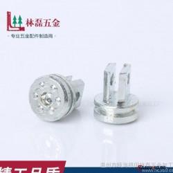 爆 款定制不锈钢旋钮焊接头温州五 金配件不锈钢旋钮头冷镦件图片