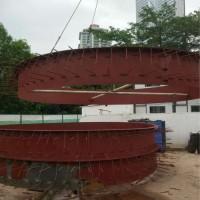 成都煒士達供應各種規格洞門鋼環 洞門預埋鋼環板廠家銷售直徑6.6米洞門鋼環價格圖片