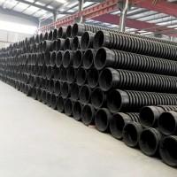 江西克拉管厂家 hdpe增强缠绕管 塑料排污图片