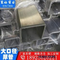 不銹鋼方管10801.2不銹鋼方通內外拋光圖片