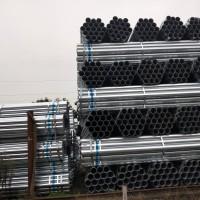 成都现货镀锌管 大口径镀锌管 热镀锌钢管 Q235材质 规格21.3*2.75 26.8*2.75图片