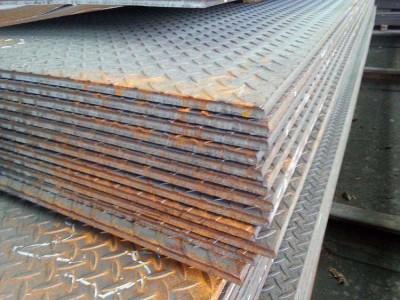 花纹板供应Q235B花纹板 包钢花纹板 酒钢花纹板 成都现货批发 可开零