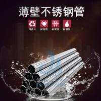 廣東信燁不銹鋼飲用水管生產薄壁不銹鋼水管廠家圖片